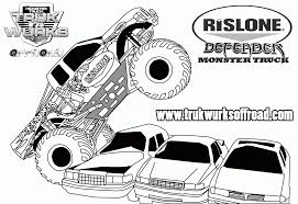 Monster Truck Coloring Pages For Kids#399466 Coloring Pages Monster Trucks With Drawing Truck Printable For Kids Adult Free Chevy Wistfulme Jam To Print Grave Digger Wonmate Of Uncategorized Bigfoot Coloring Page Terminator From Show For Kids Blaze Darington 6 My Favorite 3