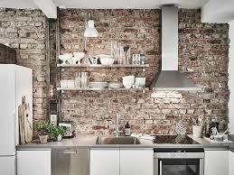 100 Brick Walls In Homes Scandinavian Terior Apartment With Mix Of Gray Tones