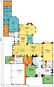Chateau Floor Plans Plan 40920db Luxurious Chateau