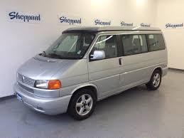 2003 Volkswagen Eurovan Silver Gasoline FWD Automatic