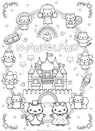 Free Printable Kawaii Coloring Pages 09