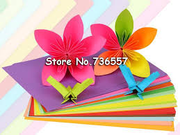 100pcs A4 80g Color Copy Paper Multicolor Available Children Handwork Origami Colored In From Office School Supplies On Aliexpress