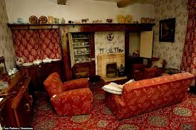 Stickman Death Living Room by Ryton On Dunsmore Farm House Has Stood Untouched Since The 1940s
