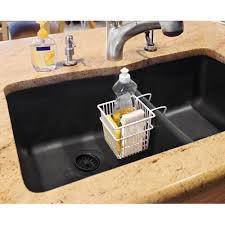 Kitchen Sink Protector Mats by Bathroom Awesome Black Sink Basket Under Sink Caddy Under Sink