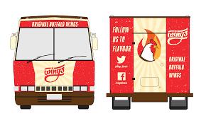 100 Buffalo Food Trucks Wing Truck Hot Dog Vehicle FOOD TRUCK 18801128