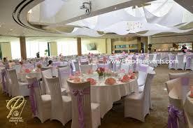 Rustic Wedding Decor Rentals Vancouver Full Room Draping Centerpiece