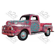 100 Pickup Truck Warehouse Coral S2S