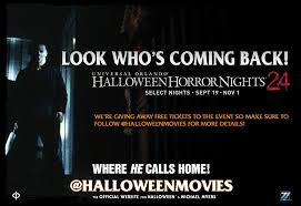 Halloween Horror Nights Promotion Code 2015 by Michael Myers Returns For Halloween Horror Nights 2014 As