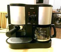 Krups Coffee Maker Manual With Filter Reduced Price Espresso Latte Dual For Frame Cool