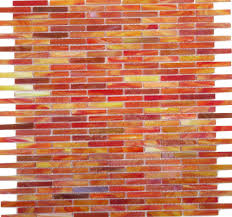 Red Glass Tile Backsplash Pictures by Orange Glass Tile Backsplash Home Design Ideas
