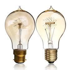 vintage edison bulb e27 b22 a19 40w 60w antique filament l