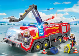 100 Airport Fire Truck Engine With Lights And Sound IKnowMyToyscom
