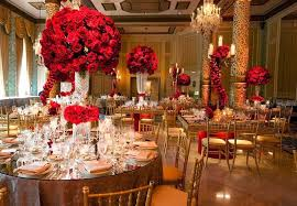 Red Gold Wedding Decorations Workshop Net