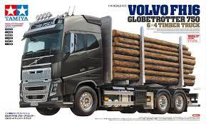 100 Tamiya Truck 56360 114 RC Volvo FH16 Globetrotter 750 6x4 Timber