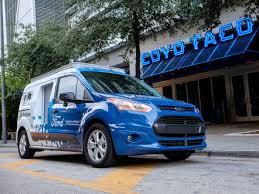 Ford's 'self-driving' Vans Are Now Delivering Food In Miami - The Verge