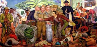 Chicano Park Murals Meanings by Diego Rivera