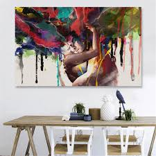 2019 Hand Painted Contemporary Art Oil Painting On Canvas Colorful