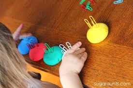 Toddlers Can Work On Fine Motor Skills With Play Dough