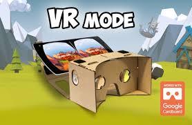 Vikings VR Cardboard Crush Poster
