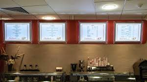 wall mounted light box displays a1 a2 a3 sizes