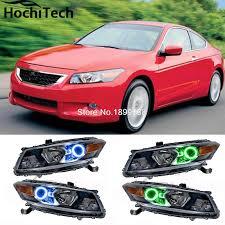 for honda accord coupe 2008 2009 2010 rgb led headlight rings halo