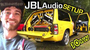 Insane JBL Audio Sound System W/ Terrells 12