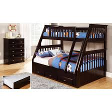 discovery world furniture premium twin over full mission bunk bed