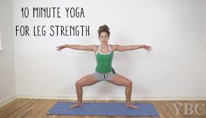 10 Minute Yoga For Leg Strength