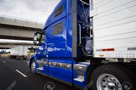 Big Rig Modern Bright Blue Long Haul Semi Truck With Refrigerator ... Big Rig Semi Truck With Reefer Trailer Move On The Night Road In White Bonnet American 1984 Peterbilt 359 Refrigerator Tool Box Magnet Rig Modern Red Semi Truck Tractor With Refrigerator Trailer Legendary Black 2018 389 Iowa Custom Kit And Accident Accidents Youtube Trailers Classic Bonneted Chrome Trim And A Powerful For Long Haul Deliveries Waeco Freightliner Fridge Unit Runn Worlds Most Recently Posted Photos Of Camion Fridge