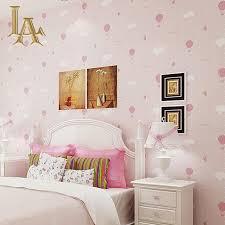 Girls Bedroom Wall Decor by Aliexpress Com Buy Cozy Cartoon Wall Paper Rolls Bedroom