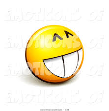1024x1044 Clip Art Vector Of A Grinning Expressive Yellow Smiley Face