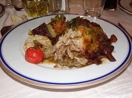 cuisine farce dinde rôtie et sa farce au boudin blanc picture of au coq d or