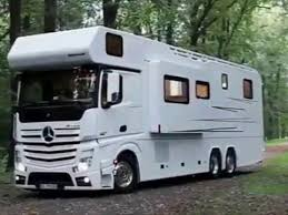 Mercedes RV Carrying An AMG And A Mini
