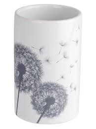 bad accessoires im schönen pusteblumen dessin otto