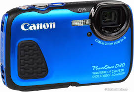 Canon D30 Underwater Camera Review