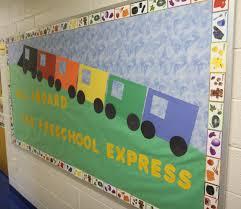 Kindergarten Pumpkin Patch Bulletin Board by Preschool Started This Week Bulletin Board Board And Preschool
