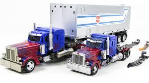100 Toy Truck And Trailer Transformers Movie Studio Series KO Oversiezed Optimus Prime