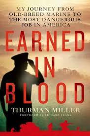 Bolcom Earned In Blood Thurman I Miller 9781250048639 Boeken