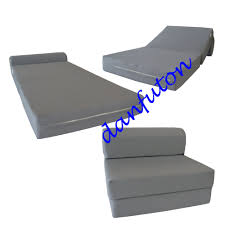 Foam Bed: Twin Sleeper Chair Folding Foam Bed