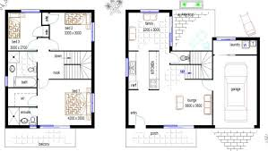 Small Duplex Floor Plans by Free Duplex Townhouse House Plan Duplex Plans House Plans