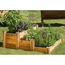 Gronomics Multi Level Rustic Raised Garden Bed