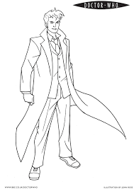 Doctor Coloring Page Who Makes Torchwood