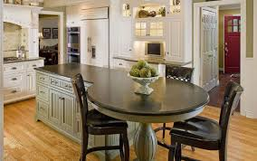 Design Kitchen Dining Amazing Set Extension Table Combo Island Ideas Kitchens Surprising Small Hybrid