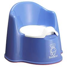 BabyBjorn Potty Chair Blue