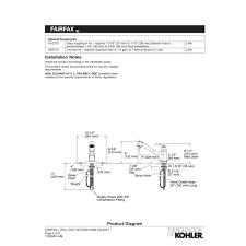 Kohler Fairfax Kitchen Faucet Cartridge by Kohler Faucet K 12177 Cp Fairfax Polished Chrome Pullout Spray