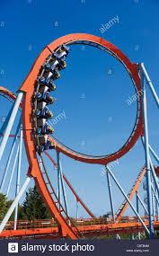 khan port aventura khan roller coaster in port aventura amusement park salou