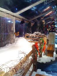 Flocked Christmas Trees Baton Rouge by Special Effects Snow Faux Snow Snow Effects Services