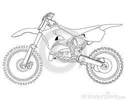 Dirt Bike Sketch