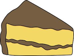 Chocolate Cake clipart slice cake 4