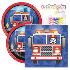 100 Fire Truck Birthday Party Amazoncom Flaming Pack